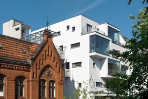 Das Wohn- und Bürogebäude c13 in Berlin von Kaden Klingbeil Architekten ist auch auf der Liste der Nominierten