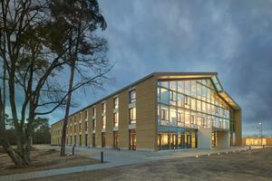 Der Alnatura Campus in Darmstadt von haascookzemmrich STUDIO2050 ist ebenfalls für den Nachhaltigkeitspreis nominiert