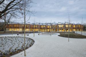 Für den Deutschen Nachhaltigkeispreis nominiert: Akademie der Deutschen Gesellschaft für Internationale Zusammenarbeit von Waechter + Waechter Architekten