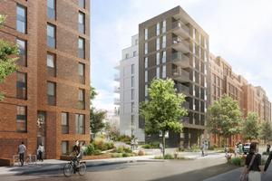 Teile des Quartiers wurden mit BIM geplant,<br />jedoch erst ab der Ausführungsplanung
