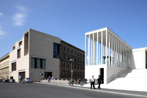 Haus Bastian mit JamesSimon-Galerie, beides Chipperfield Architects, Berlin