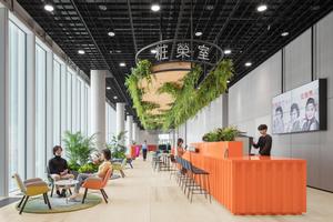 Kinzos Entwurf für das Interior ist auf die&nbsp; verschiedenen Facetten von Seoul abgestimmt. Er vereint die traditionellen Wohnhäuser von Gahoe-Dong und die boomende Industrie von Guro-Gu mit einem Hauch von Luxus<br />