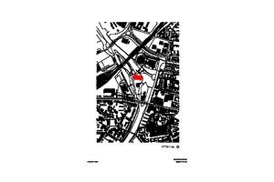 Lageplan, M 1 : 12500