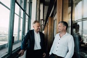 """Für Kleboth Dollnig, Linz, ist ARCHICAD ideal, um von einem abstrakten Planungszustand in einen konkreteren überzugehen. Andreas Kleboth (links): """"ARCHICAD ermöglicht uns, das ohne Programmwechsel zu machen.""""<br />"""