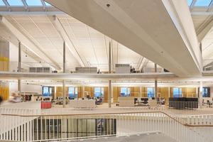Die Alnatura Arbeitswelt ist als klimaneutrales Gebäude geplant – der Entwurf von haascookzemmrich folgt dem hohen Anspruch einer ganzheitlichen, nachhaltigen Architektur
