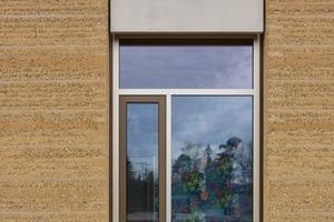 Stampflehmwand Detailaufnahme - Alnatura Arbeitswelt, Darmstadt - haascookzemmrich STUDIO205