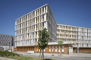 Seeparkcampus West, Seestadt Aspern, Wien/AT – DI Lutter ZT GmbH Architekten, Wien