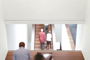 Lange Treppenläufe und alles im Blick