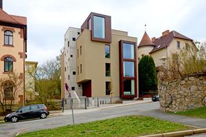 4-geschossiger Holzbau mit Holzfaserdämmung in Weimar (Gebäudeklasse 4) – KOOP Architekten & Ingenieure, Weimar