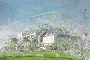 Biosphäre für ein Raumschiff? Einer der aktuellen Vorschläge, wie das ICC gedacht werden kann