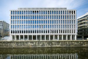 Bürogebäude am Hamburger Bahnhof, Berlin -Architekt: Miller & Maranta AG, dipl. Architekten ETH BSA SIA -Bauherr: Familie Ernst Basler AG