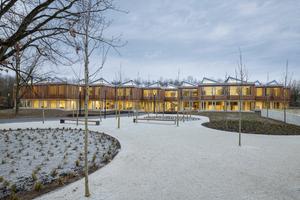 AIZ | Akademie der Deutschen Gesellschaft für Internationale Zusammenarbeit (GIZ), Bonn - Architekt: Waechter + Waechter Architekten BDA -Bauherr: Deutsche Gesellschaft für Internationale Zusammenarbeit (GIZ) GmbH