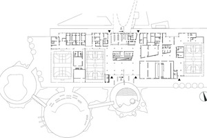Grundriss Erdgeschoss, M 1 : 1500