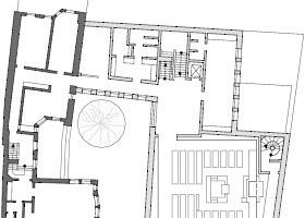 Grundriss Obergeschoss, M 1:750