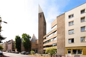 Orts- und stadtteilprägend, aber als Gottesdienstraum verloren: St. Gertrud in Köln (Gottfried Böhm)