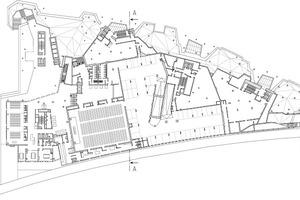 Grundriss Obergeschoss, M 1:1500