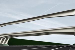 10 Rendering der Carbonbetonbrücke
