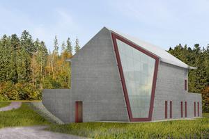 03 Der Entwurf für den Infraleichtbeton-Pavillon