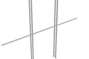 04 Aufbau der Carbon-Seilnetzfassade
