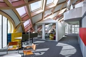 Das 3. Obergeschoss des Hauptquartiers von Swatch