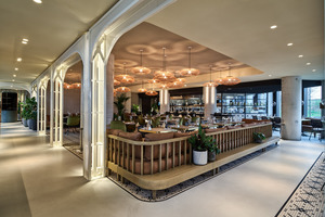 Das Persijn Restaurant im Erdgeschoss