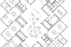 Grundriss Erdgeschoss, M 1:750<br />