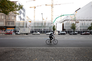 Blick heute von der Friedrichstraße aus,<br />September 2019