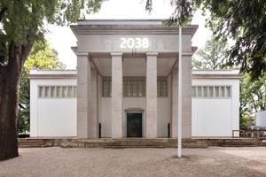 Der deutsche Pavillon in den venezianischen Giardini