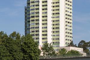 Gewinner in der Kategorie Wohnbauten: Hochhaus in Erlagen