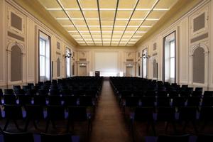 Humboldt-Saal, der größte der Veranstaltungssäle im Haus