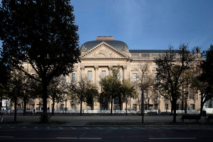 Ansicht Staatsbibliothek von Unter den Linden, jetzt wieder die Haupteingangsseite auf der Südseite des überbauten Blocks