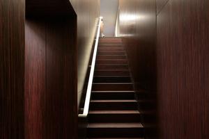 Treppenaufstiege am Lesesaal