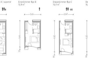 Konzept Zimmermodule/Raumzellen, o.M.
