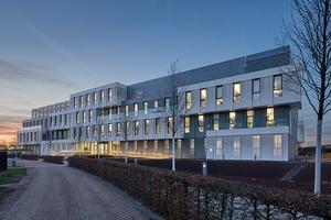 """Das Bürogebäude """"WDF53"""" in Walldorf hat eine Art Auftakt-Position auf dem SAP-Campus inne."""
