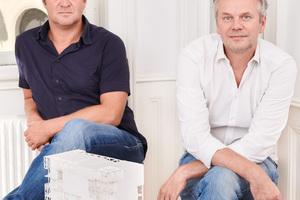 Josef Saller und Heribert Wolfmayr von heri&salli Architekten, Wien