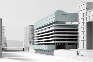 "Anerkennung ""Living on a public garage"", David Leber"