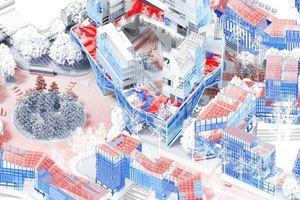 """Anerkennung """"MIAUHAUS. Interrelational Movement for Architecture and Urbanism"""" von Sergio Del Castillo Tello"""