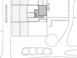 Lageplan, M 1:1250