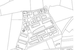 Lageplan, M 1:8000