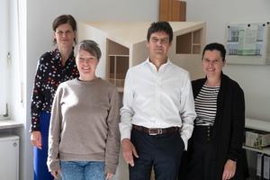 v.l.n.r.: Nicole Kerstin Berganski, Sarah Centgraf, Andreas Krawczyk und Katja Reich