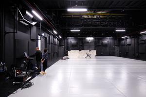 Unterer Bühnenraum im Bühnenturm