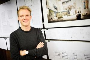 Preisträger Fabian Wennig von der Leibniz Universität