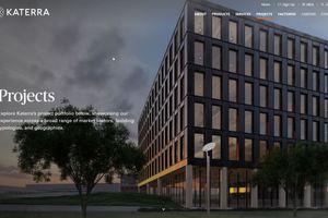 Das Portfolio Katerras besteht weitestgehend aus Bürogebäuden, Industriebauten und Wohnhäusern