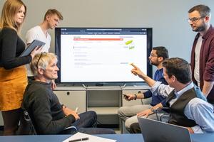 Kollaboratives Arbeiten ermöglicht Architekten und Planern an unterschiedlichen Standorten an einem Projekt zu arbeiten