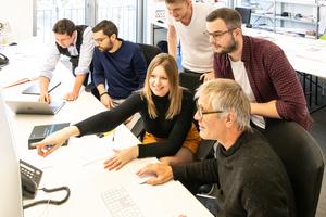 Bei Stefan Forster Architekten in Frankfurt a.M. ist kollaborative Arbeit bereits Alltag