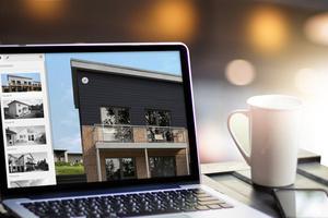 Mit dem Fassadenkonfigurator können sich Architekten, Hausbesitzer und Verarbeiter schnell und unkompliziert einen Eindruck von den unterschiedlichen Gestaltungsmöglichkeiten verschaffen
