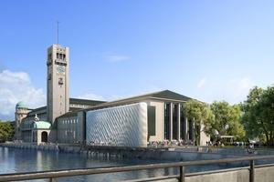 3F Studio entwickeln am Deutschen Museum in München eine Fassade aus PETg