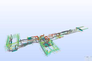 "Screenshot BIM-Modell ""TGA – Lüftung"""