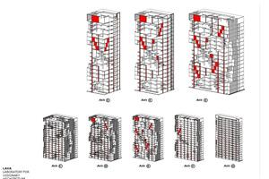 Mit unterschiedlichen digitalen Ansätzen entwickelten die Architekten das Gebäude. Die Fassade wurde parametrisch geplant, um eine optimale Lösung zu finden