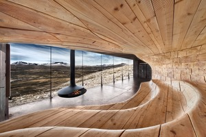 Tverrfjellhytta – Norwegian Wild Reindeer CentrePavilion